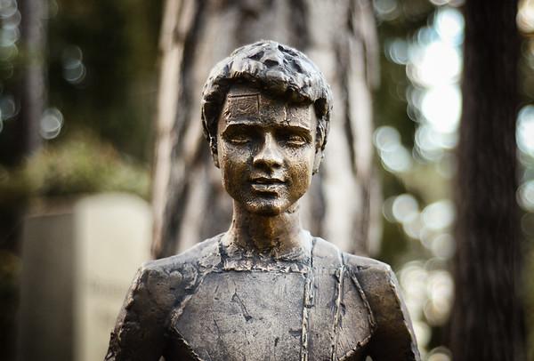 A Graveyard Figure