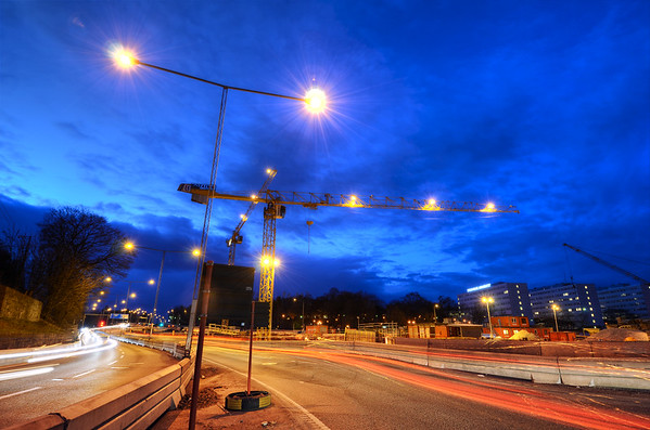 Blue Hour Traffic