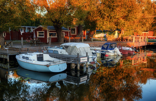 Private Autumn Marina