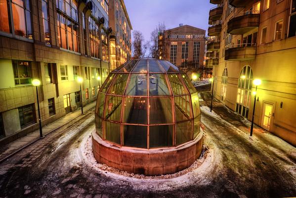 Cinematic Glass Dome