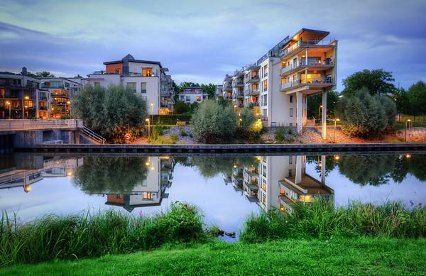 Sickla Canal Calm