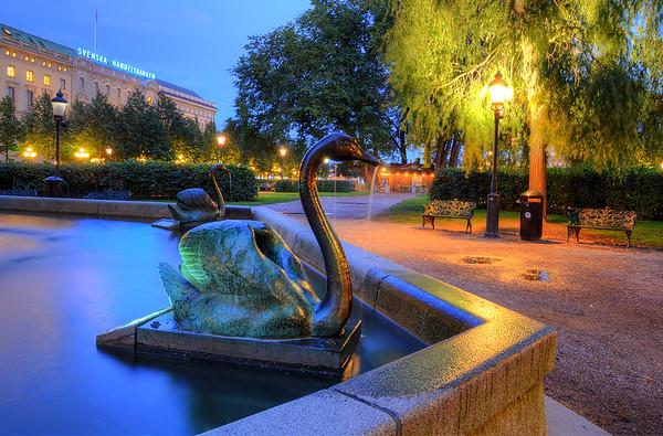 The Bronze Swan