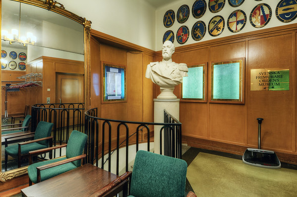 Room of Busts and Mirrors