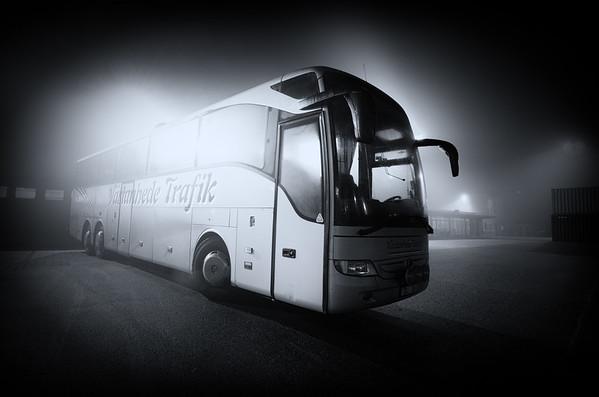 Ghost Bus in Fog