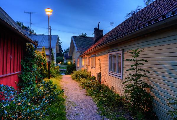 Rustic Trosa Alley
