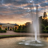 Orangery Fountain Sunset