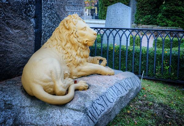 Golden Lion Tomb
