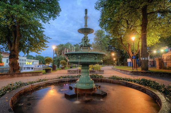 A Garden Fountain