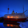 Tent Ship Dusk