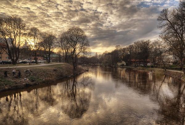 Black River Sunset