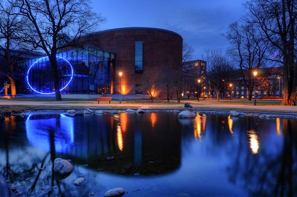Concert Hall Pond