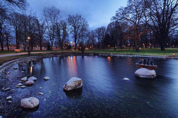 The Vasa Pond