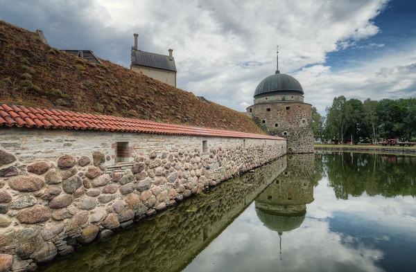 Vadstena Castle Wall
