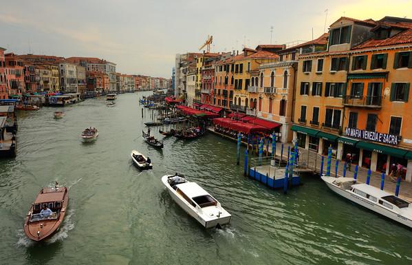 The Boats of Rialto I