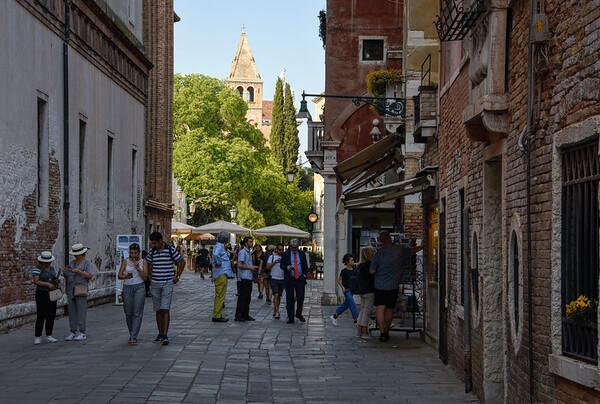 A Venice Square