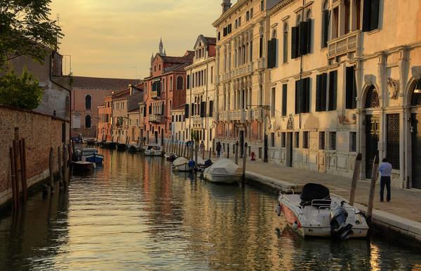 Golden Canal of Venice