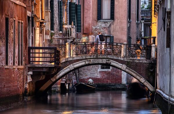 Tourists on the Bridge