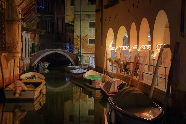 Arcade Canal Night
