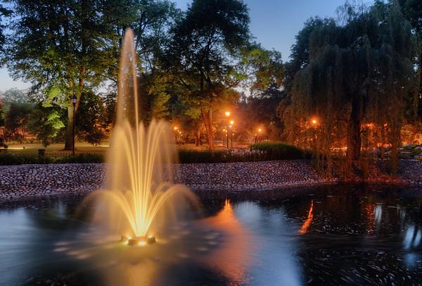 Bernardine Garden Fountain