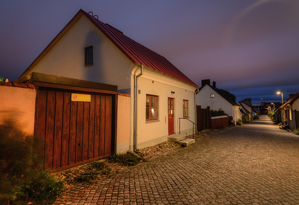 Visby Night Street