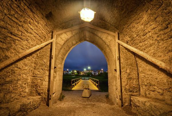 Exit the Dalman Gate