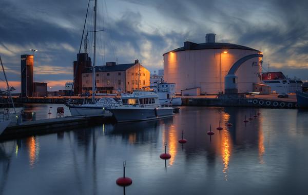 Visby Harbor Blues I