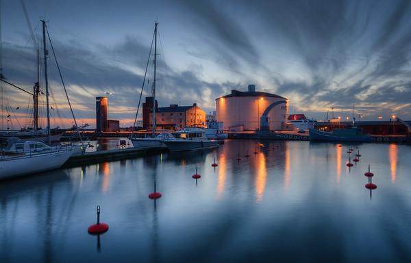 Visby Harbor Blues II