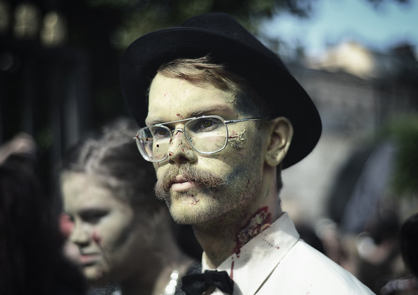 A Hipster Zombie