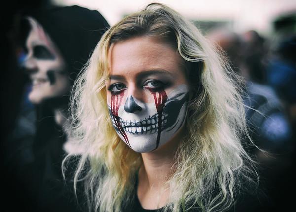 A Bleeding Skeleton