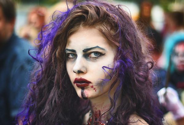 Blue Streaks Zombie