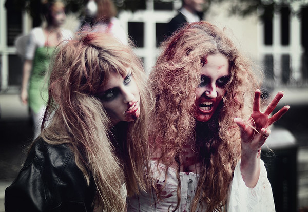 Scary Zombie Girls