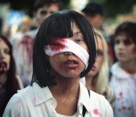 Zombie Victim Girl