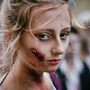 Scarred Blonde Zombie