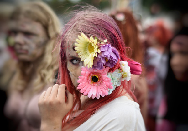 A Flower Zombie
