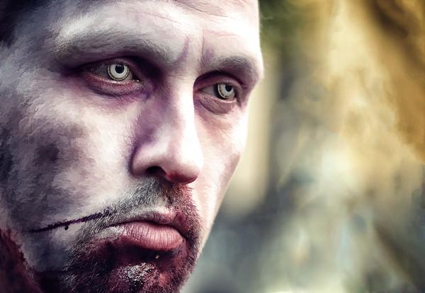 Sad Zombie Hunter