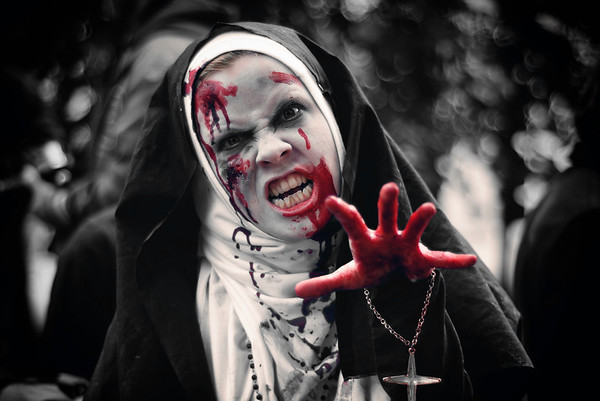 Angry Zombie Nun