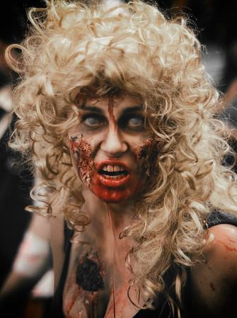 Blonde Curles Zombie