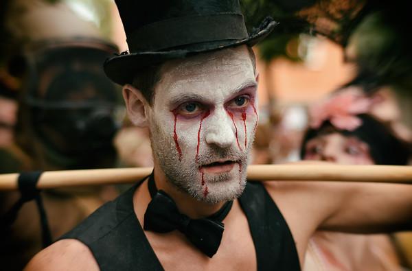 Bow Tie Zombie I