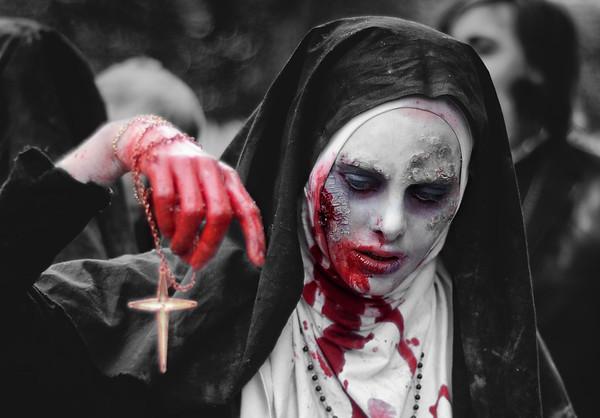 Zombie Nun Parade