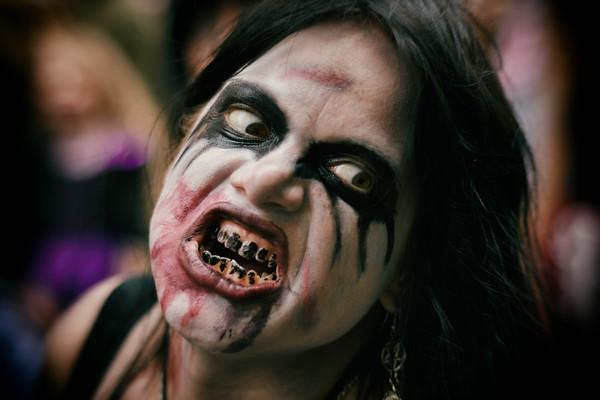 Black Teeth Witch