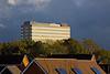 11th Nov 10:  The Fujitsu building catches evening light