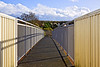 11th Nov 10:  The foot bridge at Amen Corner, Bracknell