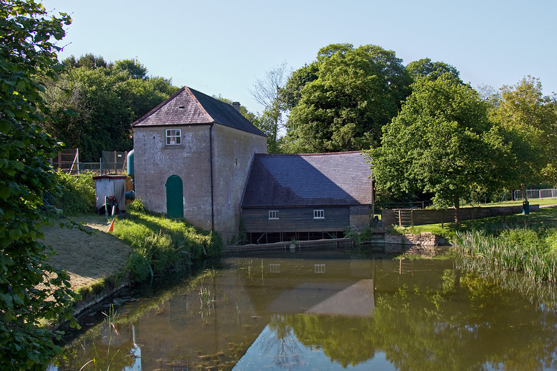 24th May 09: Claverton Pumping Station near Bath. Opened in 1813 the giant water wheel drove 2 pumps which could lift 96000 gallons per hour from the river Avon 48 feet up into the Kennet and Avon Canal.  It worked for 139 years. The canal closed in 1951.