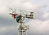 7th May 06:  Partially constructed Tower Crane in the Arlington Business Park in Theale