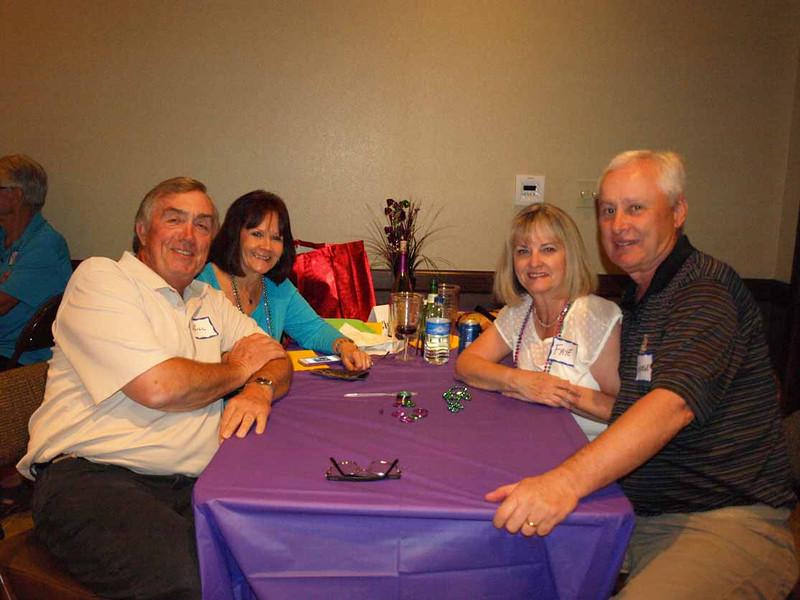Bill, Kathy, Faye and George