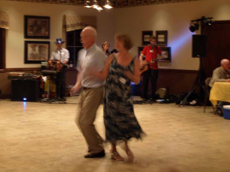 Dane and Celeste on the dance floor