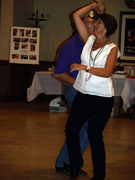 139 Louisiana Club members at the CZ club Potluck Dance