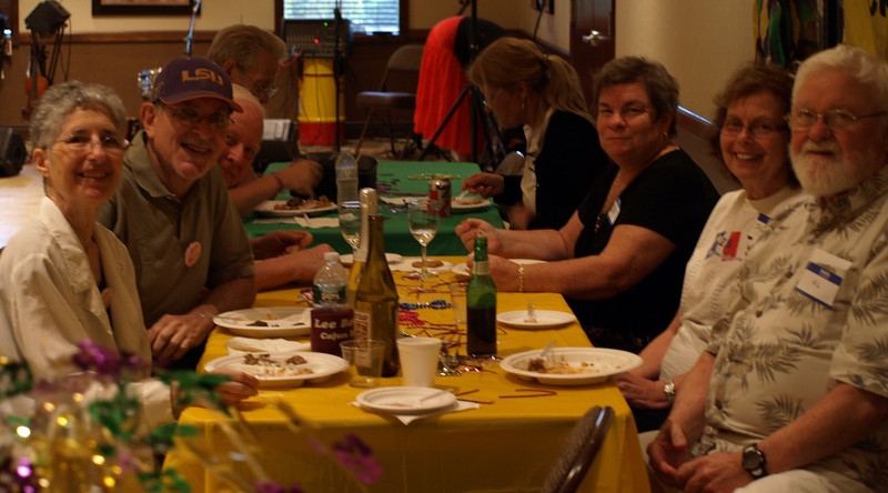 019 Heather, Bobby, Joanne & Al with the Brislenns at the CZ club Potluck Dance