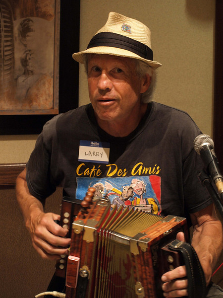 178 Larry Enlow - Accordionist for Gulfport Swamp Opera