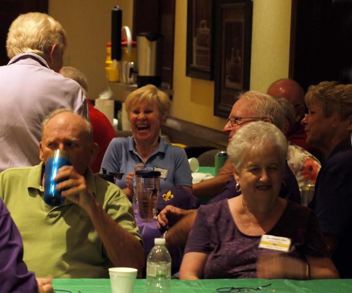 145 Louisiana Club members at the CZ club Potluck Dance